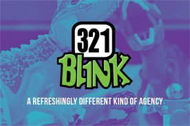 321 Blink Business Card