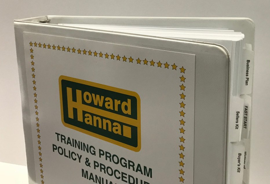 Howard Hannah Training Program Binder