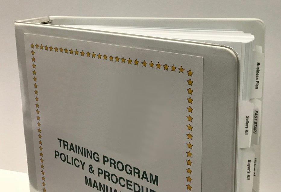 Howard Hannah Training Program Binder